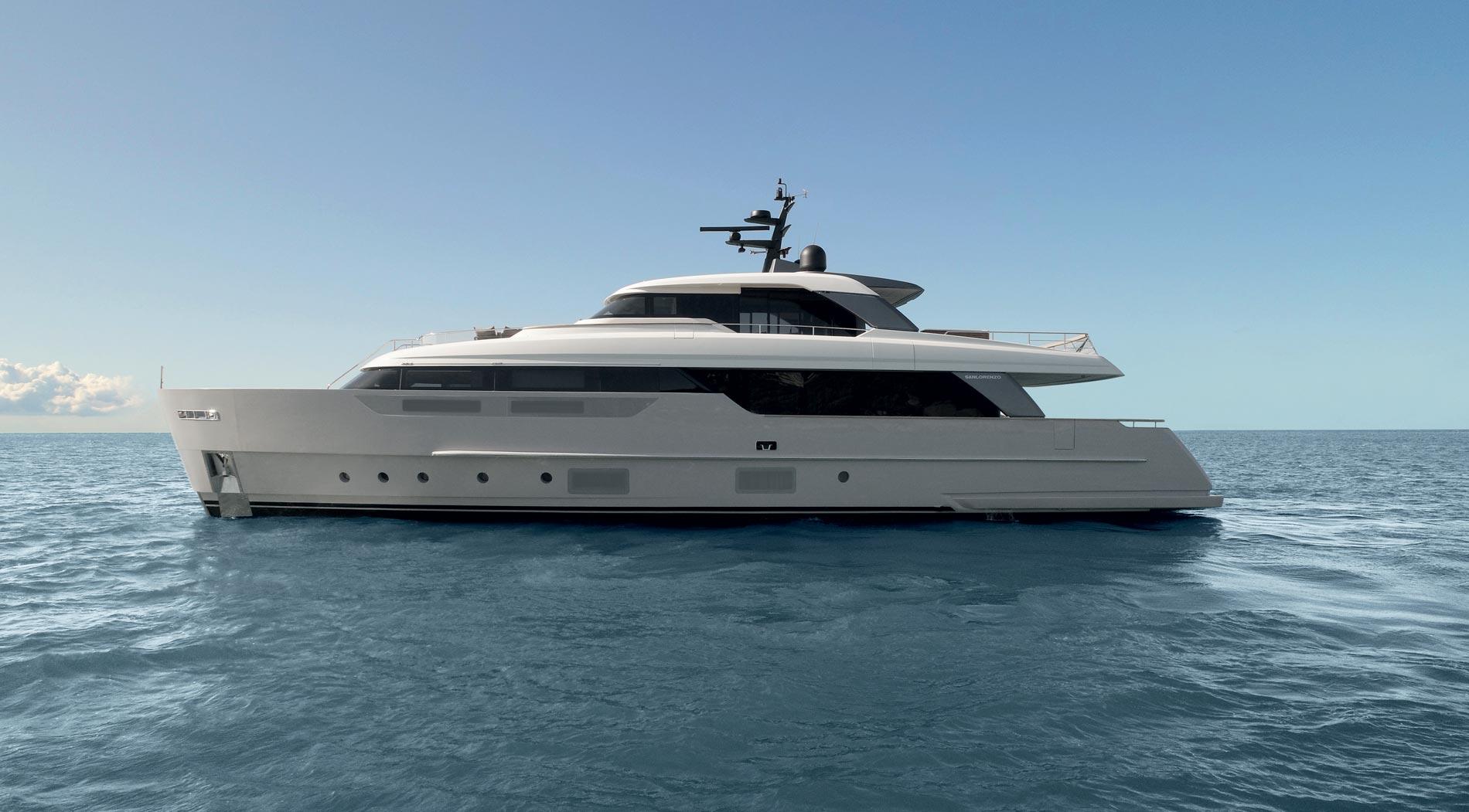 Sanlorenzo Yacht SD96