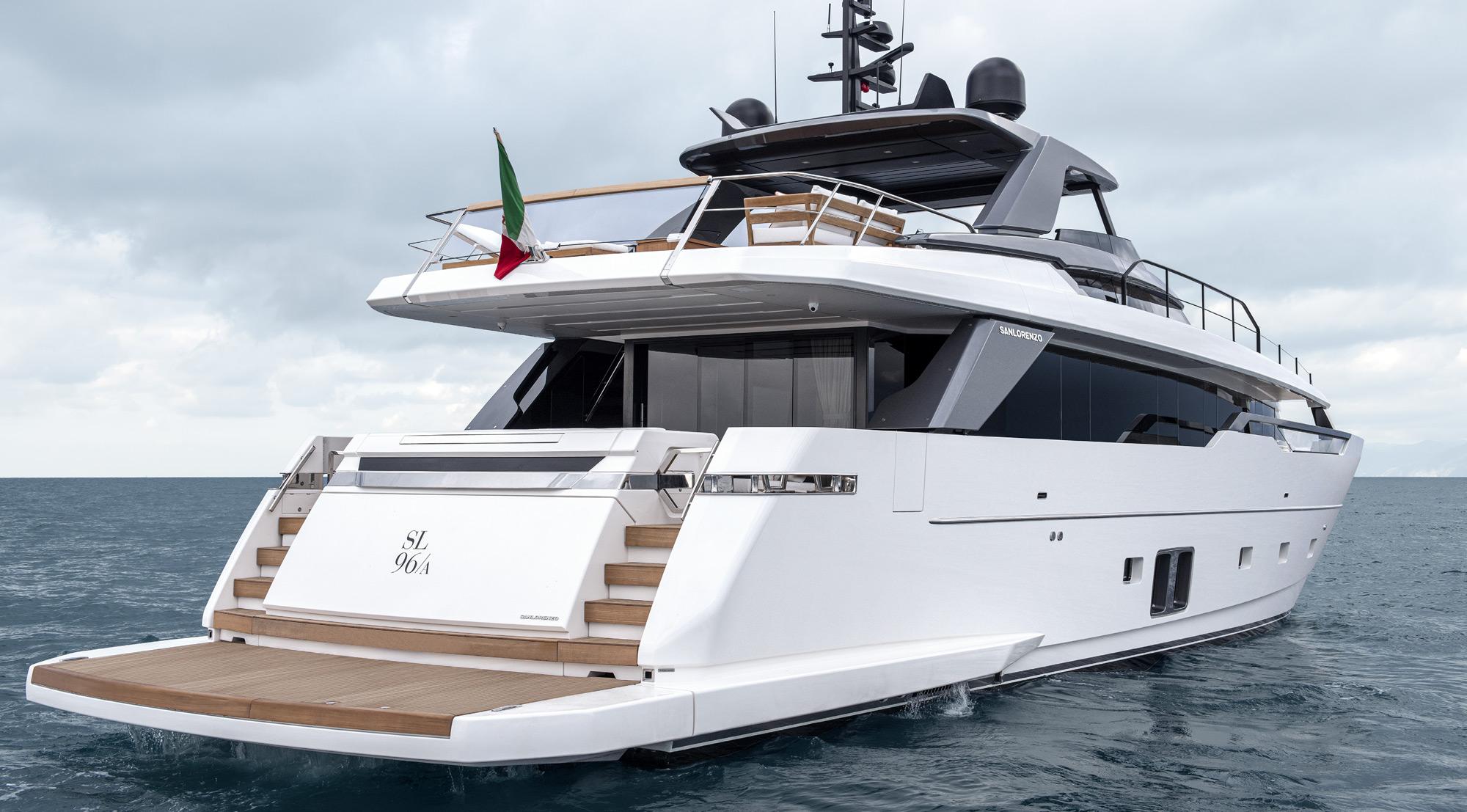 Sanlorenzo Yacht SL96A